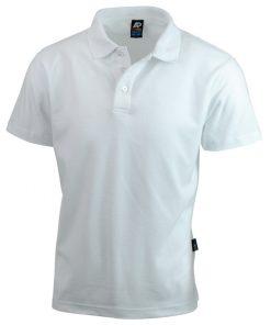 Men's Hunter Polo - M, White