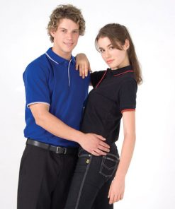 Women's Double Strip Polo
